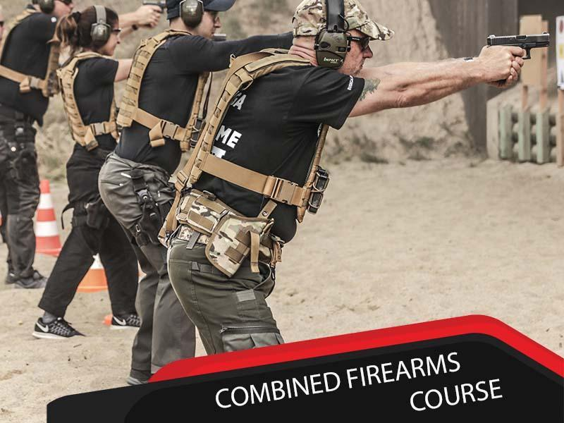 Combined Firearms Course 3 Days Course M4 AK47 Glock