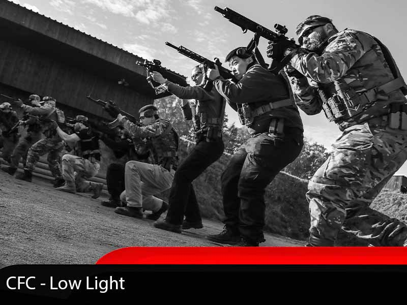 Combined Firearms Advanced Course Low Light Tactics