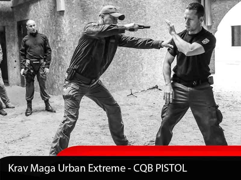 Krav Maga Urban Extreme CQB 手枪课程