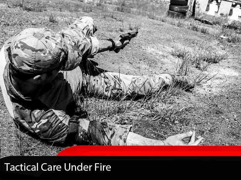 Tactical Care Under Fire Self Aid Course